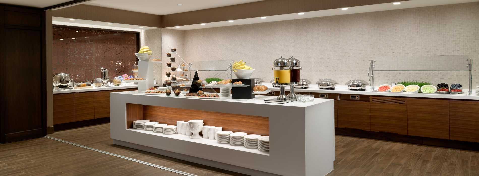 Photo of Breakfast Stations offering the freshest ingredients
