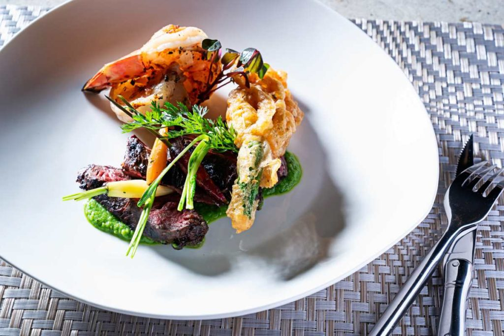 One of our locally inspired meals, made with the freshest ingredients, from area farmers, purveyors and artisan