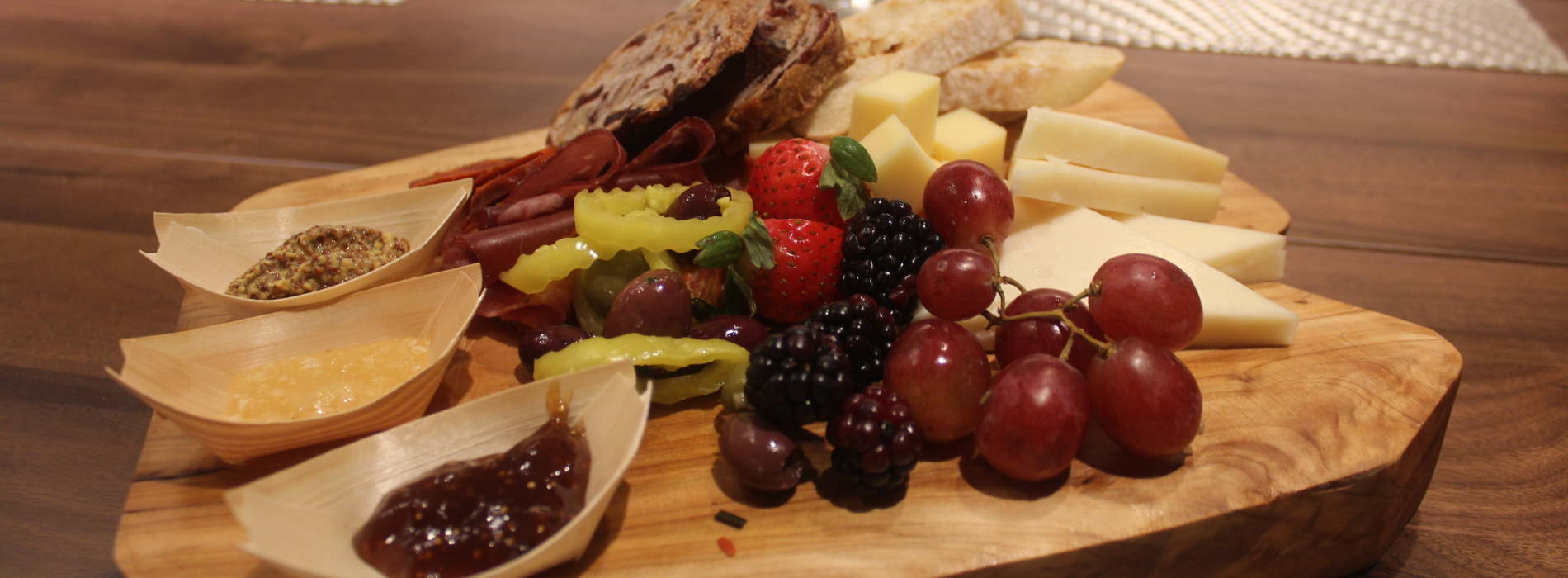One of many Charcuterie Board Options at L'Enfant Bar and Grill